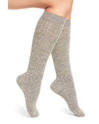 Smartwool   Gray Wheat Fields Merino Wool Blend Socks   Lyst