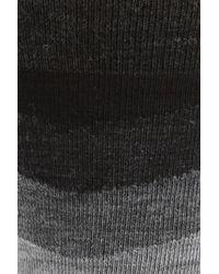 Smartwool - Black Chevron Stripe Crew Socks for Men - Lyst