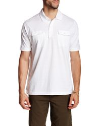 Tommy Bahama | White Military Striped Polo for Men | Lyst