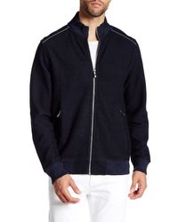 Tommy Bahama | Blue Scrimshaw Full Zip Sweatshirt for Men | Lyst