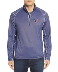 Tommy Bahama | Blue 'nfl - Double Eagle' Quarter Zip Pullover for Men | Lyst
