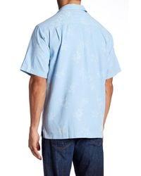 Tommy Bahama - Blue Aloha Floral Silk Original Fit Shirt for Men - Lyst