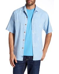 Tommy Bahama | Blue Aloha Floral Silk Original Fit Shirt for Men | Lyst