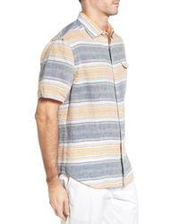 Tommy Bahama - Multicolor Cubana Bay Original Fit Stripe Linen Sport Shirt for Men - Lyst