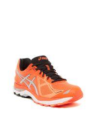 Asics - Orange Gt-2000 3 Stability Running Shoe for Men - Lyst
