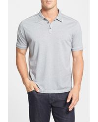 Tommy Bahama - Gray New Fray Day Island Modern Fit Polo for Men - Lyst