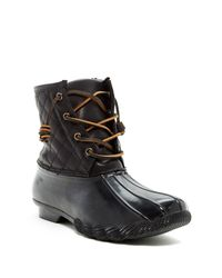 Steve Madden | Black Tillis Weather Boot | Lyst