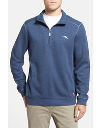 Tommy Bahama | Blue Antigua Half Zip Pullover for Men | Lyst