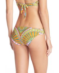 Trina Turk Multicolor Capri Print Bikini Bottom