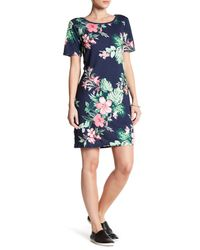 Tommy Bahama | Blue Feuillage Tee Dress | Lyst