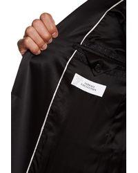 Versace - Black Notch Lapel Single Button Sportcoat for Men - Lyst