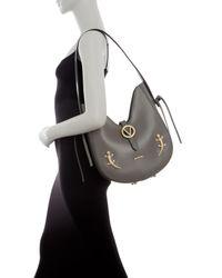 Valentino By Mario Valentino Multicolor Anny Leather Shoulder Bag