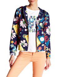Love Moschino | Blue Sweatshirt | Lyst