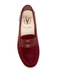 Cole Haan - Red Pinch Weekend Boat Shoe for Men - Lyst