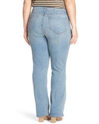 NYDJ - Blue Billie Stretch Mini Bootcut Jean (plus Size) - Lyst