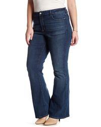NYDJ Blue Farrah Flared Jean (plus Size)