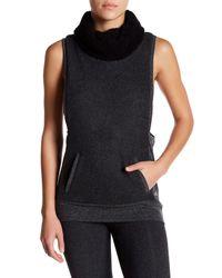 Alo Yoga Multicolor Fleece Lined Frost Winter Vest