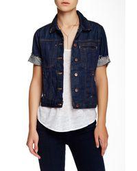 Genetic Denim Blue Blondie Short Sleeve Denim Jacket