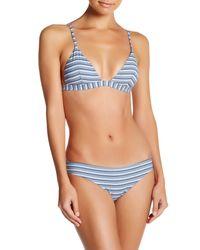 Onia Blue Danni Bikini Top