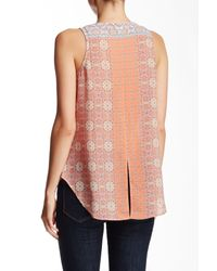 Sanctuary - Multicolor Collage Craft Tank - Lyst