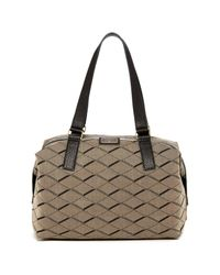 Fossil | Gray Preston Fabric Satchel | Lyst