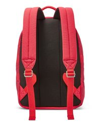 Fossil Red Ella Canvas Backpack