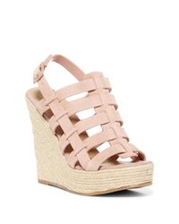 Chinese Laundry | Pink Dance Party Platform Wedge Sandal | Lyst
