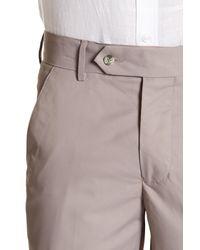 Vintage 1946 Gray Pocketed Regular Fit Pants for men