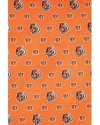 Vineyard Vines - Orange 'cincinnati Bengals - Nfl' Woven Silk Tie for Men - Lyst