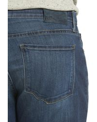 PAIGE - Blue Transcend - Federal Slim Straight Leg Jeans (gannon) for Men - Lyst