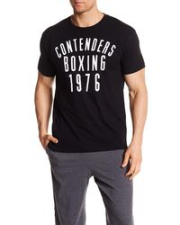 CONTENDERS Black Boxing 1976 Tee for men