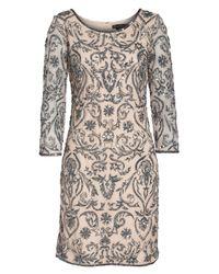 Pisarro Nights - Multicolor Sequin Embroidered Sheath Dress - Lyst