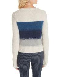 Rag & Bone Blue Holland Ombre Stripe Sweater