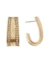 House of Harlow 1960 - Metallic Embellished Cuff Earrings - Lyst