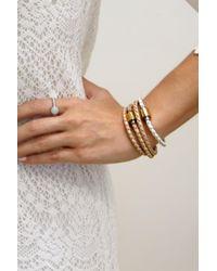 Liza Schwartz - Single Cobalt Blue Premium Leather Bracelet - Lyst