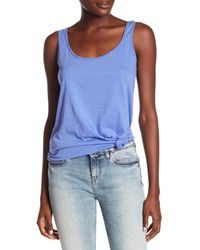 Threads For Thought Blue Tabitha Tank