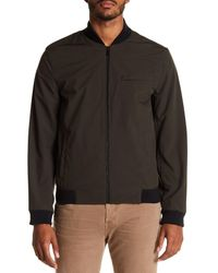 Michael Kors Green Bath Soft Shell Bomber Jacket for men