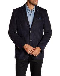 Bugatchi - Blue Seam Detail Blazer for Men - Lyst