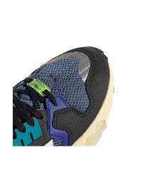 Adidas Blue Zx Torsion Sneaker for men
