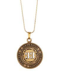ALEX AND ANI - Metallic Numerology Number 33 Charm Adjustable Necklace - Lyst