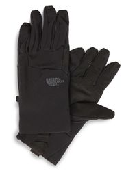 The North Face Black 'etip Apex' Waterproof Climateblock Gloves for men