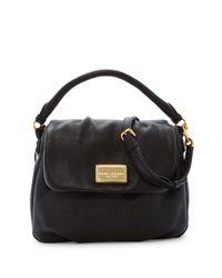 Marc Jacobs   Black Classic Leather Shoulder Bag   Lyst