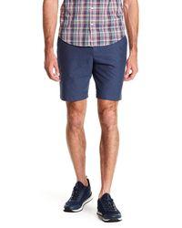 Original Penguin - Blue Dobby Oxford Shorts for Men - Lyst