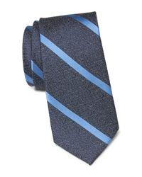 Ben Sherman Blue Octavio Stripe Tie for men