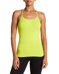 Nux - Green Infinity Adjustable T-back Cami - Lyst