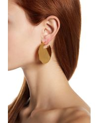 Botkier - Multicolor Two-tone Disc & Textured Pyramid Earrings - Lyst