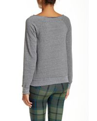 Alternative Apparel - Gray Apparel Fleece Sweater - Lyst