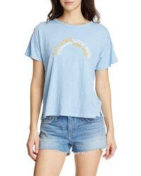 Rag & Bone Blue Rbny Logo T-shirt
