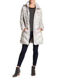Via Spiga - Multicolor Quilted Packable Down Coat - Lyst