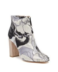 Pour La Victoire - Gray Rickie Embellished Bootie - Lyst